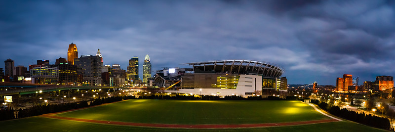 Week 6 - Paul Brown Stadium Cincinnati Pano