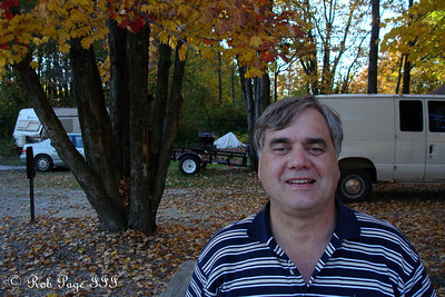 Dad, enjoying the nice weather - Chardon, OH ... October 8, 2011 ... Photo by Rob Page, III
