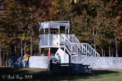 The fort that needed to be defended - Chardon, OH ... October 8, 2011 ... Photo by Rob Page, Jr.