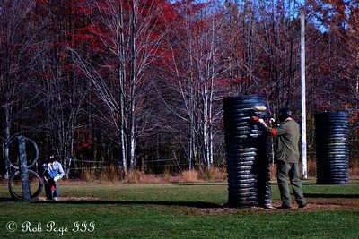 Taking aim - Chardon, OH ... October 8, 2011 ... Photo by Rob Page, Jr.