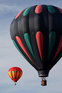 Two balloons - Chagrin Falls, OH ... May 25, 2008 ... Photo by Rob Page III