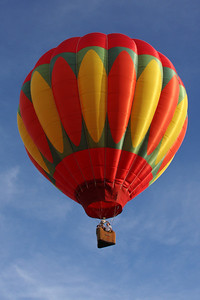 A hot air balloon on its way - Chagrin Falls, OH ... May 25, 2008 ... Photo by Rob Page III