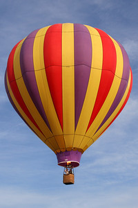 The balloon drifts away - Chagrin Falls, OH ... May 25, 2008 ... Photo by Rob Page Jr.