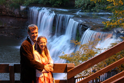 Rob and Emily at the falls of Chagrin Falls - Chagrin Falls, OH ... May 26, 2008 ... Photo by Rob Page Jr.