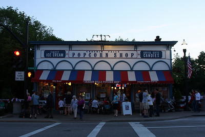 The Popcorn Shop - Chagrin Falls, OH ... May 26, 2008 ... Photo by Rob Page III