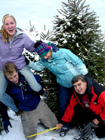 Christmas Tree Adventure - 2005
