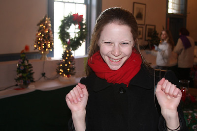 Happy Emily at Holly Hall - Chagrin Falls, OH ... December 21, 2008 ... Photo by Rob Page III
