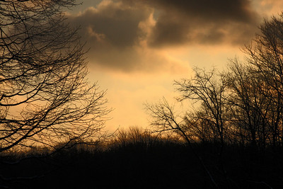 Sunrise from my bedroom in Ohio - Chagrin Falls, OH ... December 21, 2008 ... Photo by Rob Page III
