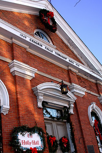 Town Hall - Chagrin Falls, OH ... December 21, 2008 ... Photo by Emily Page