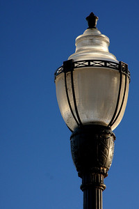 One of the street lamps - Chagrin Falls, OH ... December 21, 2008 ... Photo by Bob Page Jr.