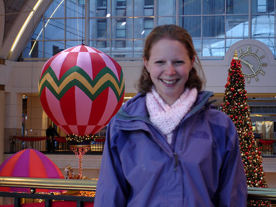 Emily in Tower City - Cleveland, OH ... November 25, 2005 ... Photo by Rob Page III