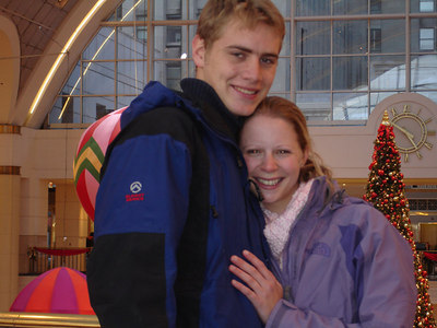 Rob and Emily - Cleveland, OH ... November 25, 2005 ... Photo by Rob Page III