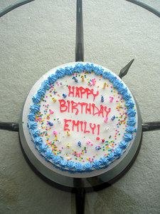 Happy Birthday Emily - Chagrin Falls, OH ... November 24, 2005 ... Photo by Rob Page III
