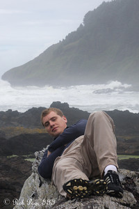 Taking in the lovely weather - Cape Perpetua, Yachats, Oregon ... June 18, 2012 ... Photo by Emily Page