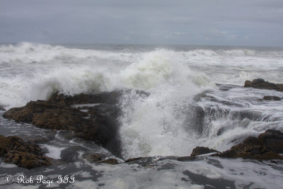 Thors Well - Cape Perpetua, Yachats, Oregon ... June 18, 2012 ... Photo by Rob Page III