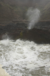 The Spouting Horn at Cooks Chasm -  - Cape Perpetua, Yachats, Oregon ... June 18, 2012 ... Photo by Rob Page III