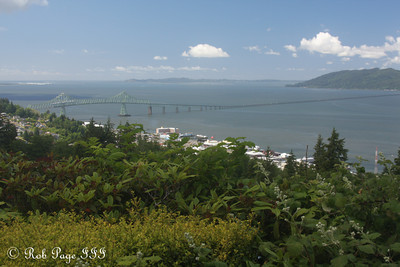 Looking out from the Astoria Column - Astoria, Oregon ... June 19, 2012 ... Photo by Rob Page III