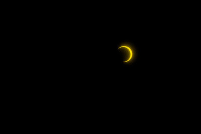 Annular Eclipse of 2012. Shot in Eugene, Oregon, USA