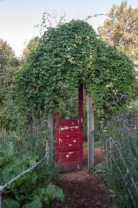 Garden Door -- McMenamins Edgefield