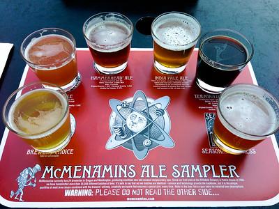 Real beer after 6 weeks in Costa Rica -- McMenamins Edgefield