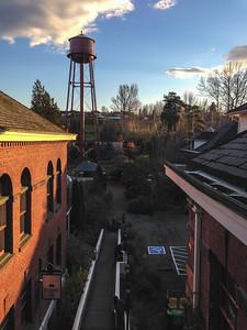 View from men's hostel, McMenamins Edgefield