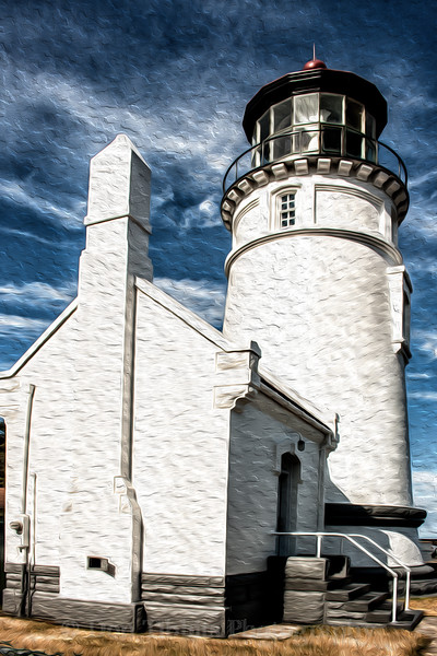 Umpqua River Lighthouse (Altered)