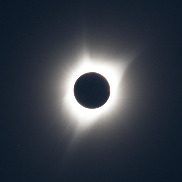 Oregon, Madras - Total solar eclipse of August 21, 2017, close up