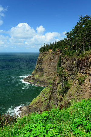 Rugged coastline at Cape Mears