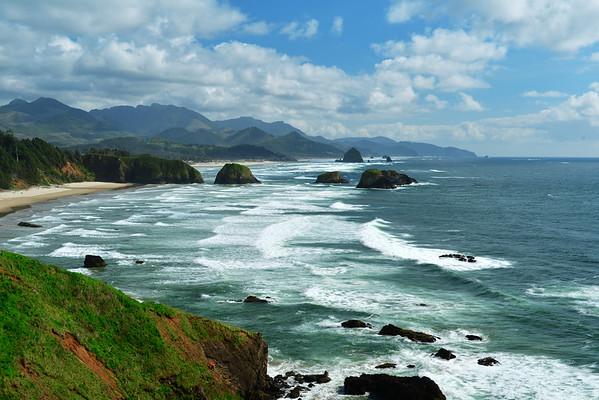 Cannon Beach coastline