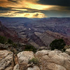 Sunset at Lipan Point on the South Rim