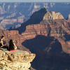 Picnic on the edge, North Rim