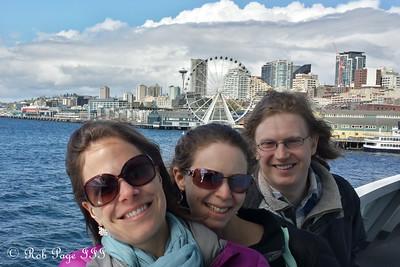 Jen, Emily, and Tim - Seattle, WA ... April 11, 2015 ... Photo by Rob Page III