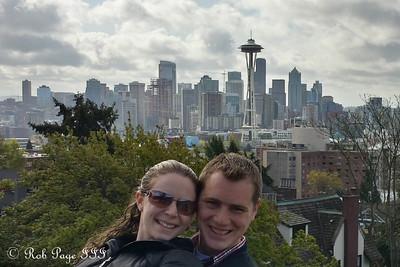 Rob and Emily - Seattle, WA ... April 12, 2015