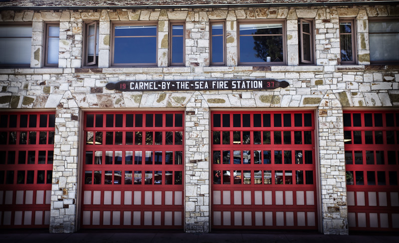 Carmel fire station
