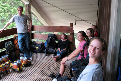 Listening to Bob's instructions - Mt. Hood, OR ... June 27, 2007 ... Photo by Daryl Dombrowski