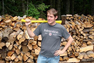Lumberjack John - Mt. Hood, OR ... June 29, 2007 ... Photo by Joyce Page