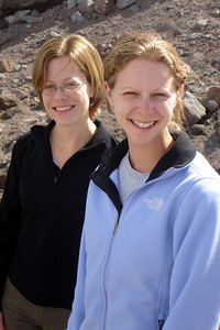 Jen and Emily - Mt. Hood, OR ... June 27, 2007 ... Photo by Rob Page III