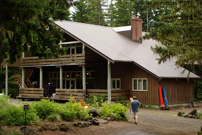 The Mazama Lodge - Mt. Hood, OR ... June 29, 2007 ... Photo by Joyce Page
