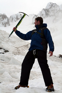 John is now a professional climber - Mt. Hood, OR ... June 28, 2007 ... Photo by Nicole Page