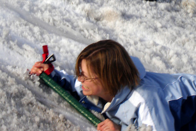 Look at that grit and determination - Mt. Hood, OR ... June 27, 2007 ... Photo by Rob Page III