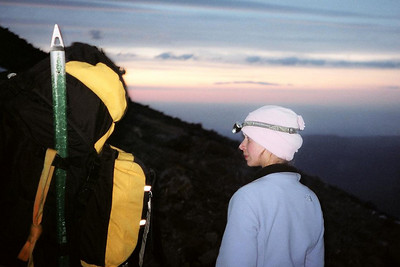 Sunrise - Mt. Hood, OR ... June 28, 2007 ... Photo by Dave