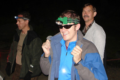 John, rocking the sun glasses with a headlamp so he can see? - Mt. Hood, OR ... June 28, 2007 ... Photo by Rob Page III