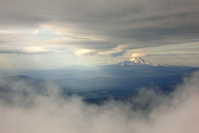 A scenic view through the clouds - Mt. Hood, OR ... June 28, 2007 ... Photo by Rob Page III