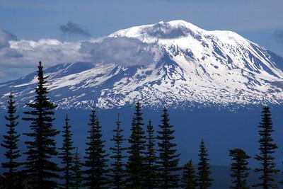 Mt. Adams - Mt. St. Helens, WA .. June 30, 2007 ... Photo by Rob Page Jr.