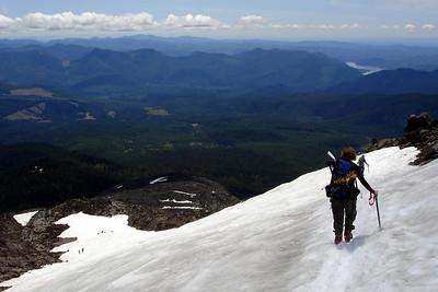 Mt. St. Helens - Descent