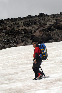 Trudging along - Mt. St. Helens, WA ... June 30, 2007 ... Photo by Rob Page III
