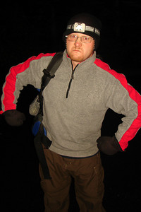 Jon is ready to go up the mountain - Mt. St. Helens, WA ... June 29, 2007 ... Photo by Rob Page III