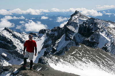 On top of the mountain - Mt. St. Helens, WA ... June 30, 2007 ... Photo by Nicole Page