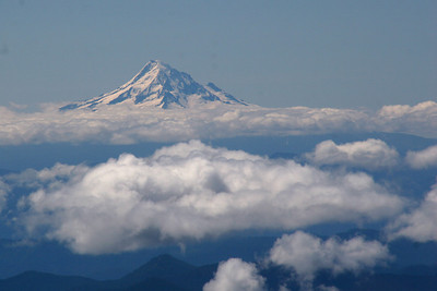 Mt. Hood - Mt. St. Helens, WA ... June 30, 2007 ... Photo by Rob Page Jr.