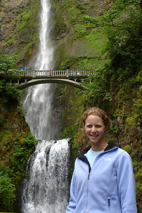 Emily and the Multnomah Falls - Multnomah Falls, OR ... June 29, 2007 ... Photo by Rob Page III